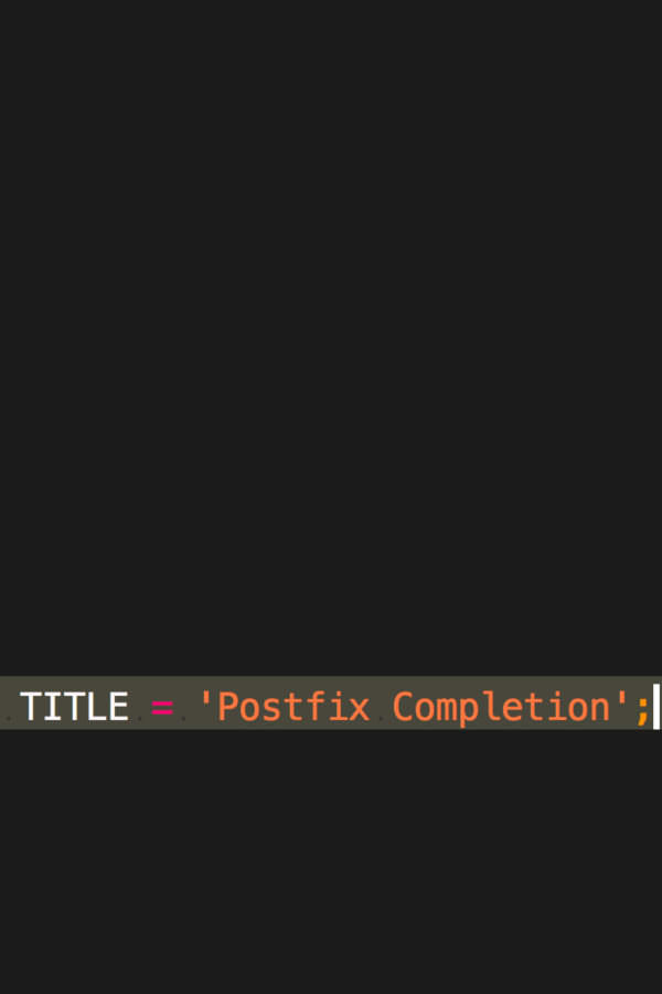 IntelliJ IDEAで便利な入力方法 Postfix Completion