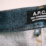 A.P.C.のリジッドデニムを買って、初めてデニムウォッシュで洗うまで